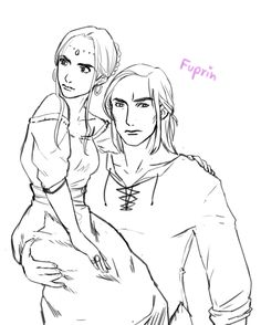 ELIDE AND LORCAN by fuprin
