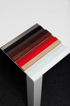 Extra table collection / design + art direction lievore altherr molina / foto Salva Lopez