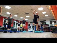 Step by Ale 77 (Full Block Step Aerobic Workout, Aerobics Workout, Step Aerobics, Cardio, Ale, Fitness, Youtube, Exercises, Ale Beer