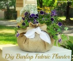 Creative DIY Projects With Burlap | Just Imagine - Daily Dose of Creativity