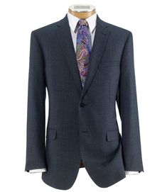 Joseph Slim Fit 2-Button Suit with Plain Front Trousers_CLEARANCE