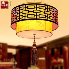 89.99$  Buy here - http://aliku4.worldwells.pw/go.php?t=32783496938 - 40CM-60cm A1 The Chinese style living room pendant lamp antique parchment lamp bedroom lamp simple atmospheric teahouse study 89.99$