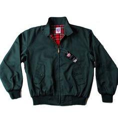 Classic Original Warrior Green Harrington Jackets from a genuine UK Company since 1995. Great Value