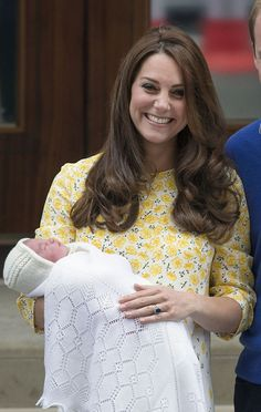 She was born a couple of days after the royal couple's fourth wedding anniversary.