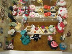 Museum Quality Miniature Doll House Victorian Hat Store Vintage by Olsen Cantu | eBay