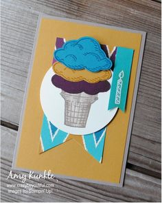 Sprinkles of Life, Annual Catalog Sneak Peek, ice cream cone, blender pen, photopolymer stamps Blender Pen, Image C, Creative Studio, Sprinkles, Stampin Up, Catalog, Invitations, Punch, Projects
