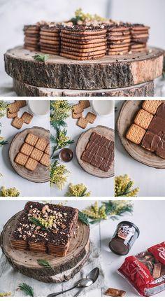 Descubre cómo preparar esta deliciosa tarta de galletas con Top Cao Dulcesol. Un postre buenísimo y muy fácil de hacer qué gusta a todo el mundo. Sweet Life, Gastronomia, World, Chocolate Cookies, Sweets, Dessert, Pies, Dolce Vita
