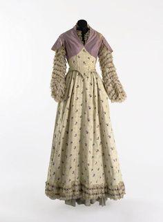 Costume designed by Walter Plunkett for Elizabeth Taylor in Raintree County (1957).