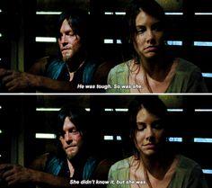 """""""Ela [Beth] era durona. Ela não sabia, mas ela era"""" - Daryl 510"""