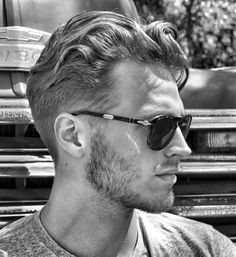 Casual Short Curly Hairstyles Men