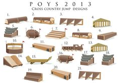 DeviantArt: More Like POYS 2013 Cross Country jump designs by ...
