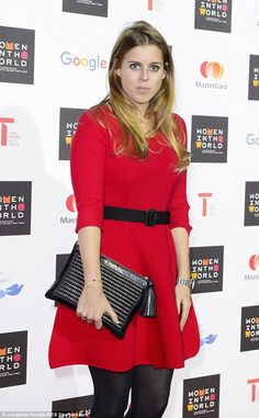 Fresh from fashion week, Princess Beatrice was on hand to put in an appearance at another ...