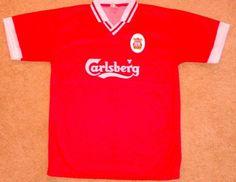9d567eb52e0 Get a  Liverpool FC Official Jersey Adult Medium  Carlsberg Red  Soccer   Futbol
