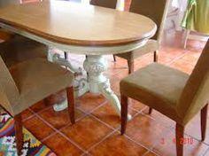 Mesa de comedor antigua oval | Decoracio | Pinterest | Mesas de ...