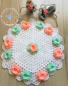 Takipçi, 484 Takip Edilen, 66 Gönderi - ipeKeçe® 🧡'in ( - women Life ideas Crochet Doilies, Crochet Yarn, Free Crochet, Afghan Crochet Patterns, Knitting Patterns, Crochet Baby Booties, Crochet Designs, Crochet Earrings, Crafts
