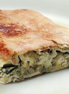 Recipe for Prasopita (Leek pie)