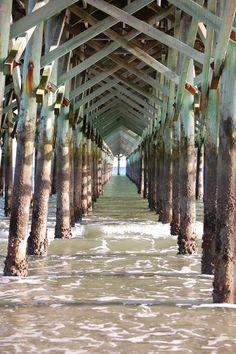 www.homeguidemyrtlebeach.com  Great picture of a pier in Myrtle Beach  #myrtlebeach #pier #scenery