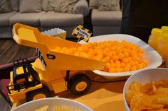Construction Birthday Party Ideas | Photo 1 of 20 | Catch My Party