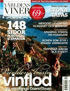Revista sueca Världens Viner (Vinhos do Mundo)  elege Douro como o melhor rio vinícola do mundo #portoincentives #dourovalley #portugal