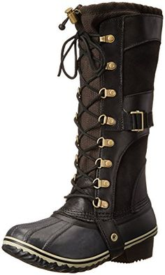 6dc27f499ef6 Sorel Conquest Carly Boot - Women s Black