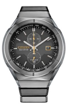 Citizen Releases Four New Super Titanium Watches to Celebrate Its Partnership with ispace | WatchTime - USA's No.1 Watch Magazine Chronograph, Titanium Watches, Window Casing, 3 O Clock, Citizen Watch, Omega Watch, Watches For Men, Magazine, News