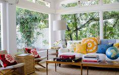 Room Designs l Ideas for Sunporch or Living Space l www.CarolinaDesigns.com