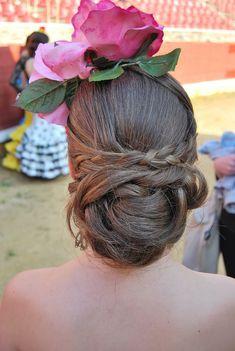 Peinados flamenca