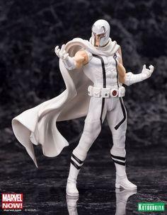 Marvel Comics Magneto White Costume PX Exclusive ARTFX+ Statue
