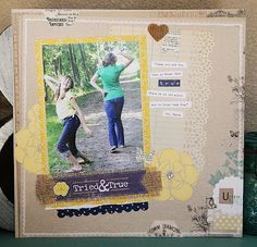 TERESA COLLINS DESIGN TEAM: Youer than You layout by Julie Jacob