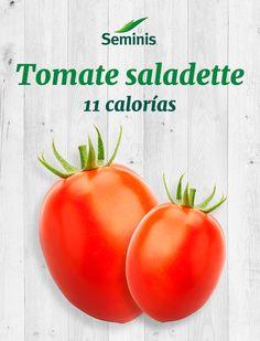 El #tomate saladette #Seminis es un ingrediente ligero y bajo en calorías para tus salsas.
