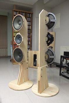 Image result for open baffle line array speakers