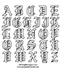 Tattoo alphabet tattoo alphabet american traditional and free printable calligraphy letters alphabet other works in other thecheapjerseys Image collections