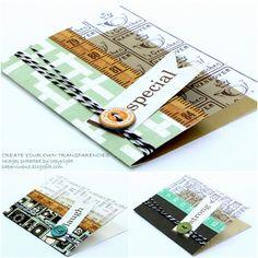 Echo Park cards w/ DIY Overlays - Scrapbook.com