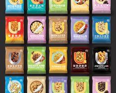youus snack on Behance Food Packaging, Packaging Design, Cinema Popcorn, Cheese Popcorn, Potato Sticks, Spicy, Deserts, Envelope, Ice Cream