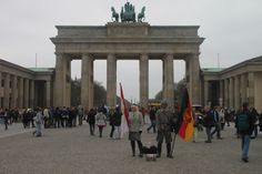 Brandenburg gate- Berlin