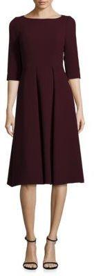 Nouveau Crepe Wool Mariam Dress