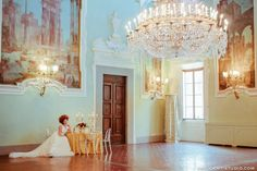 Wedding Dream in Florence Palace - winter wedding