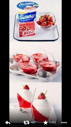 Strawberry jello