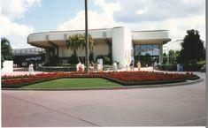 epcot communicore at DuckDuckGo Disney Magic, Disney Art, Walt Disney World, Question And Answer Games, Epcot Rides, Circular Buildings, Terrace Restaurant, World Library