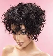 short w/ curls