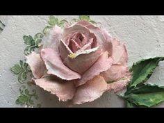 HOW TO MAKE FIBER TEXTURE ( SCULPTURE ) PASTE AT HOME - YouTube Plaster Sculpture, Sculpture Painting, Painting & Drawing, Chalk Paint Techniques, Diy Plaster, Junk Art, Texture Painting, Creative Art, Flower Art