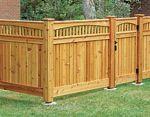 cedar fence ideas   Cedar Fence Plan Downloadable PDF - fee plans from PlansNOW - cedar ...