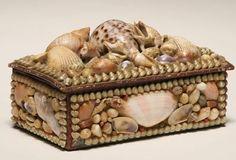Victorian Shell Box