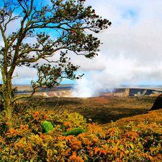 Kilauea Crater on the Big island of #Hawaii