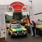 nice Rallye Wiesbaden 2018 - unterwegs im Opel Ascona