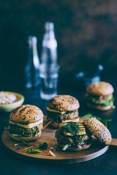 burger di ceci e quinoa