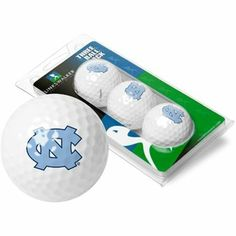 North Carolina Tar Heels UNC NCAA Golf Ball Pack by LinksWalker. $8.95. Features a top quality 3 pack of golf balls with your favorite college team.