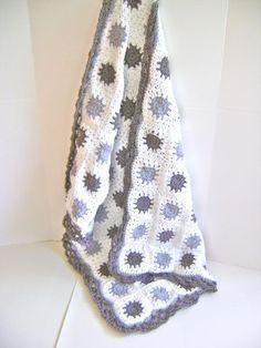Baby Blanket Crochet, Crochet Baby, Knit Crochet, Afghan Patterns, Crochet Patterns, Crochet Ideas, Crochet Mermaid Tail, Knitted Blankets, Crocheted Afghans