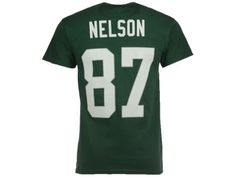 Green Bay Packers Jordy Nelson Majestic NFL Men's Eligible Receiver III T-Shirt