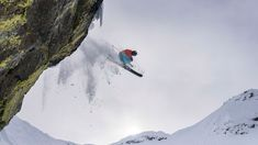 Hucking cliffs and Skiing Powder at Kicking Horse and Revelstoke